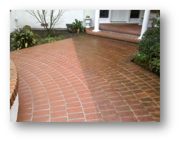 power wash pavers and seal